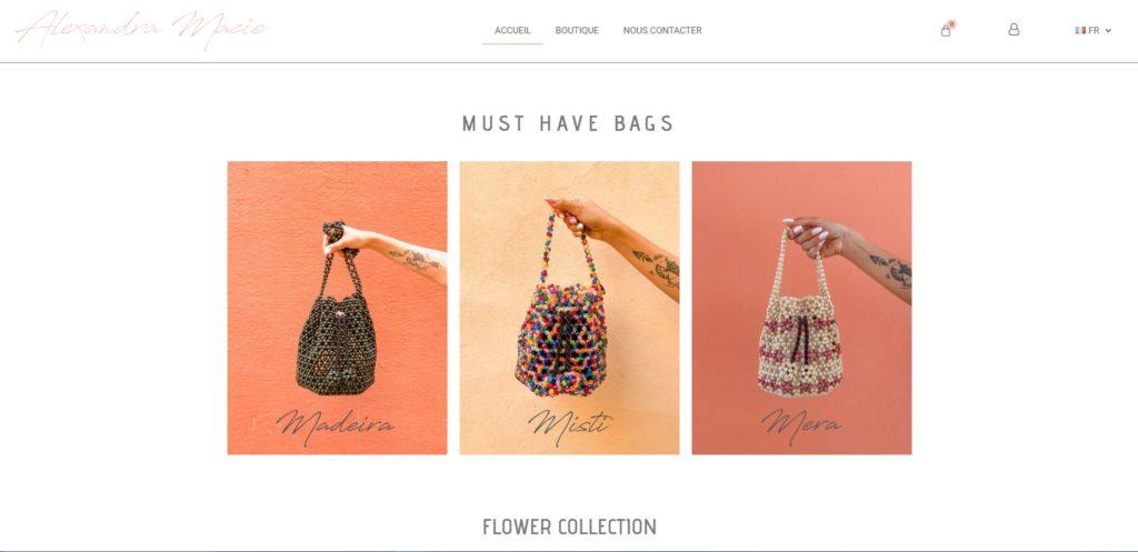 Alexandra Macie - Boutique en ligne
