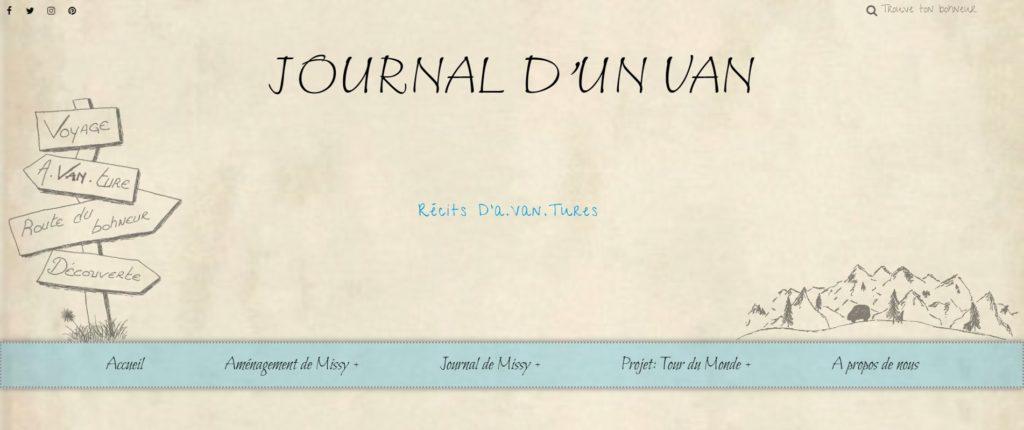Journal d'un Van - Blog - Voyage