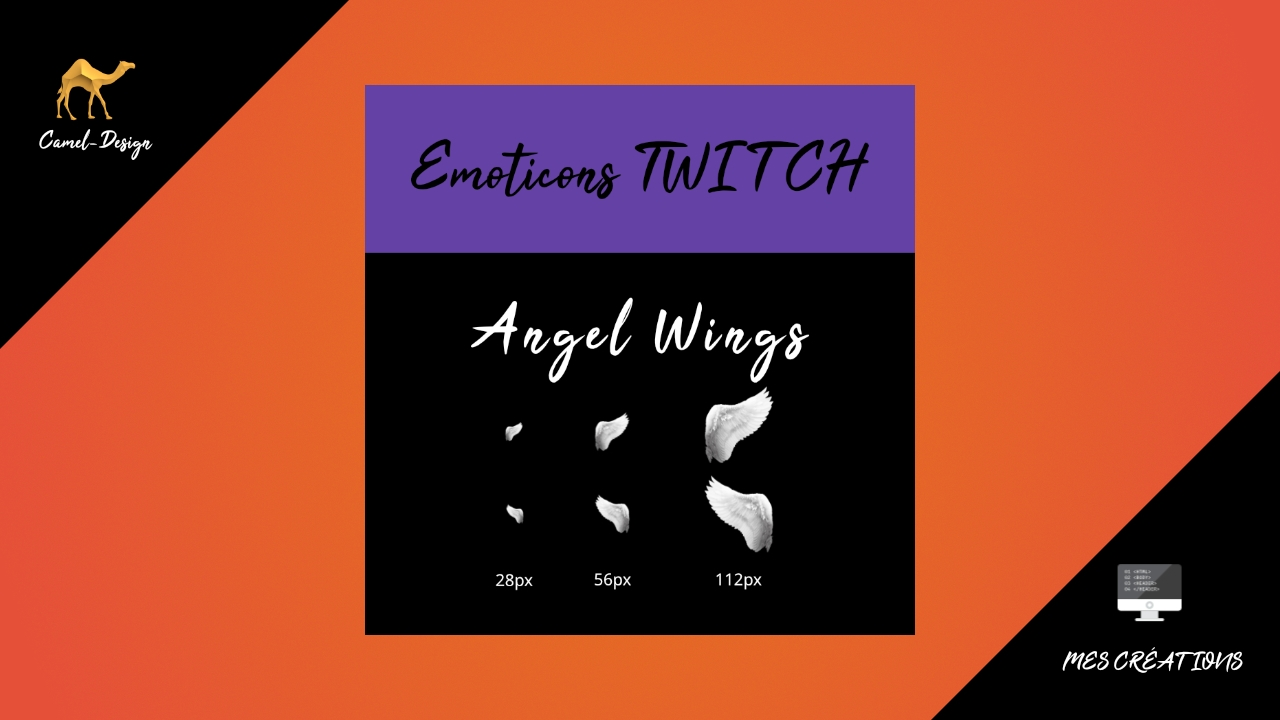 emoticones twitch ailes d'anges
