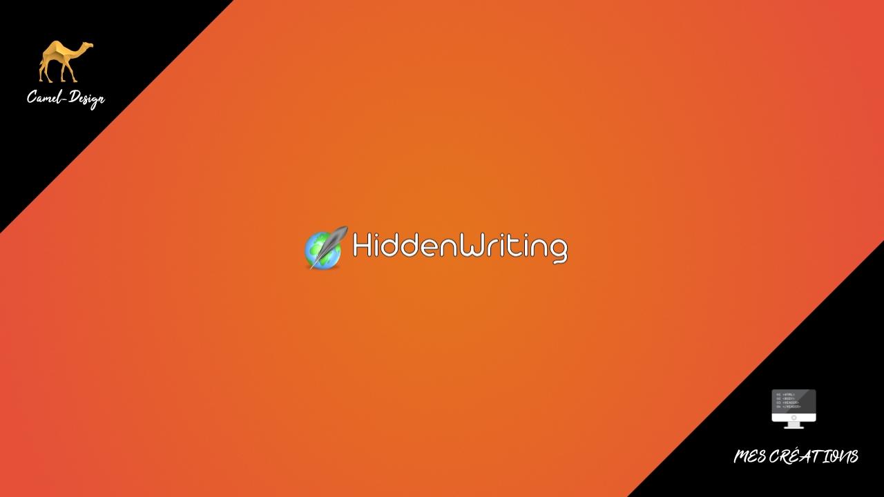 hiddenwriting logo miniature