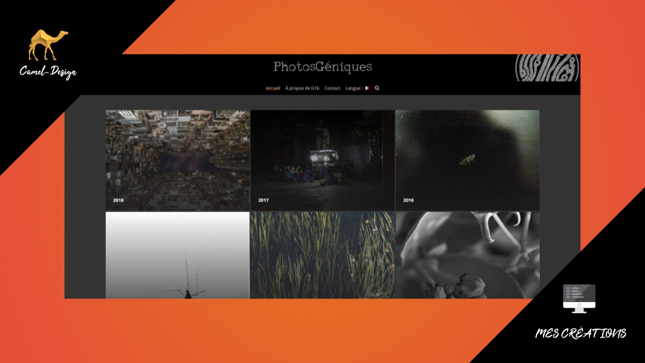 photosgeniques - site vitrine - miniature