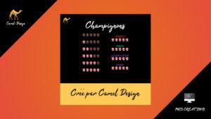 rangs pour forum : Champignons