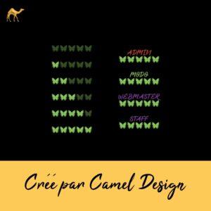 rang forum papillon - Camel Design