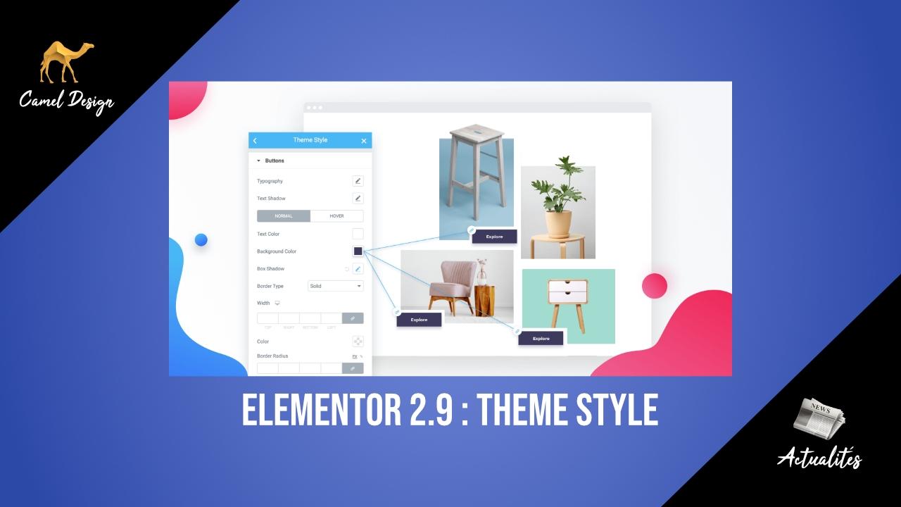 elementor 2.9 : theme style