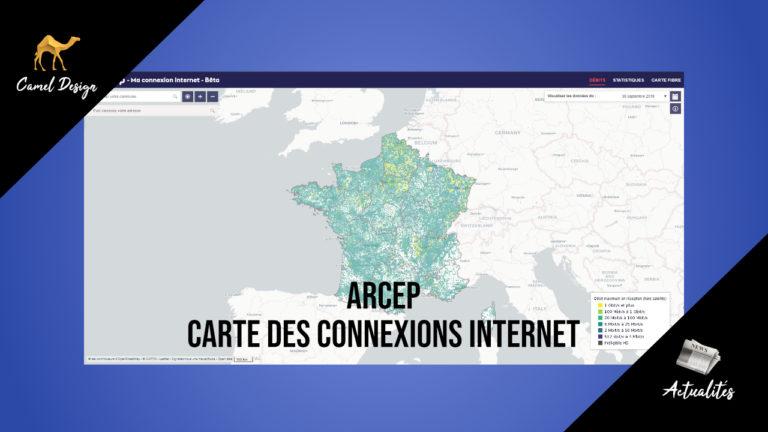 miniature arcep carte des connexions internet