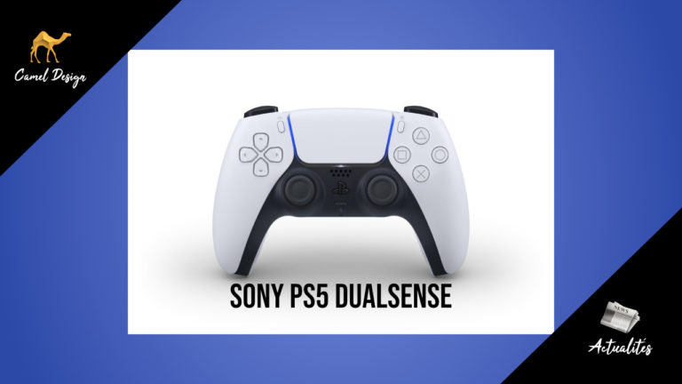 miniature manette sony dualsense PS5