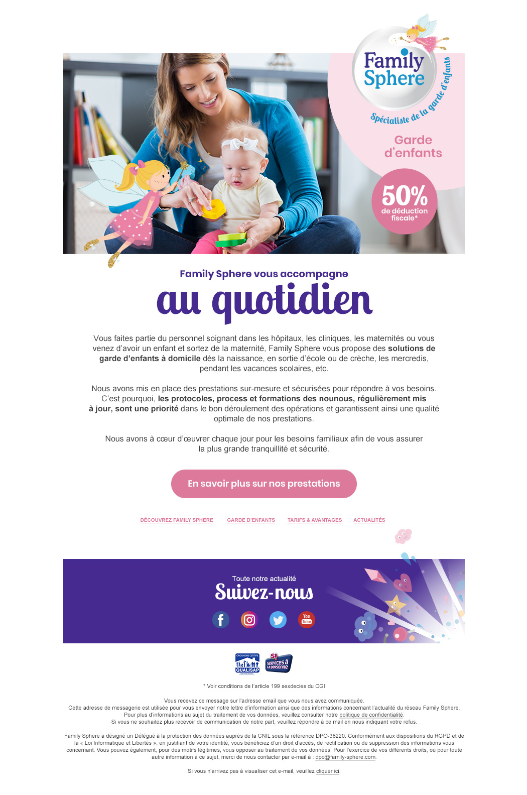 Email FamilySphere Clinique Maternite