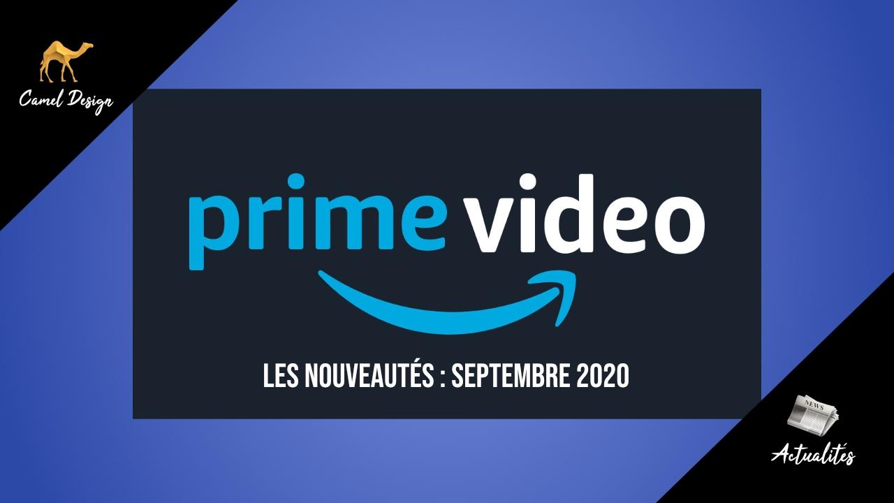 amazon prime video septembre 2020