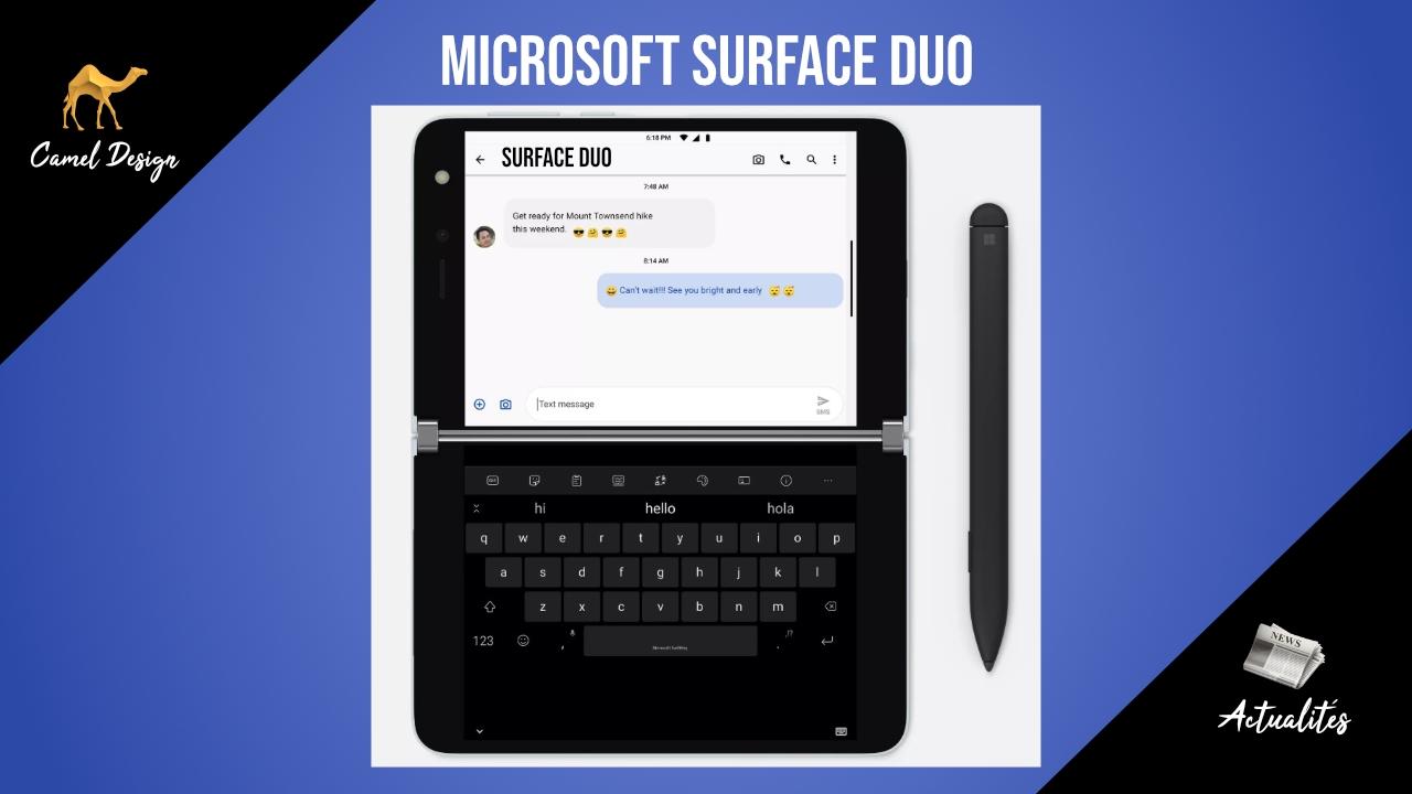 miniature microsoft surface duo