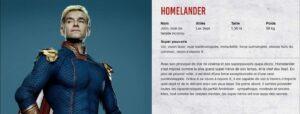 the boys 06 homelander - Camel Design