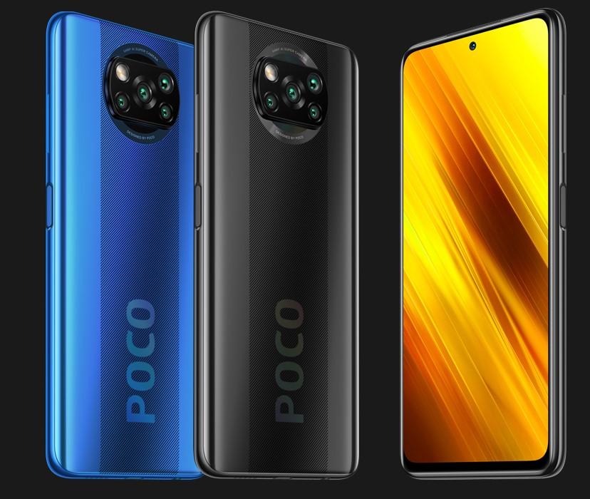 Xiaomi POCO F3 NFC deux couleurs