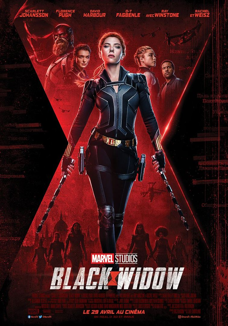 Black Widow - jaquette