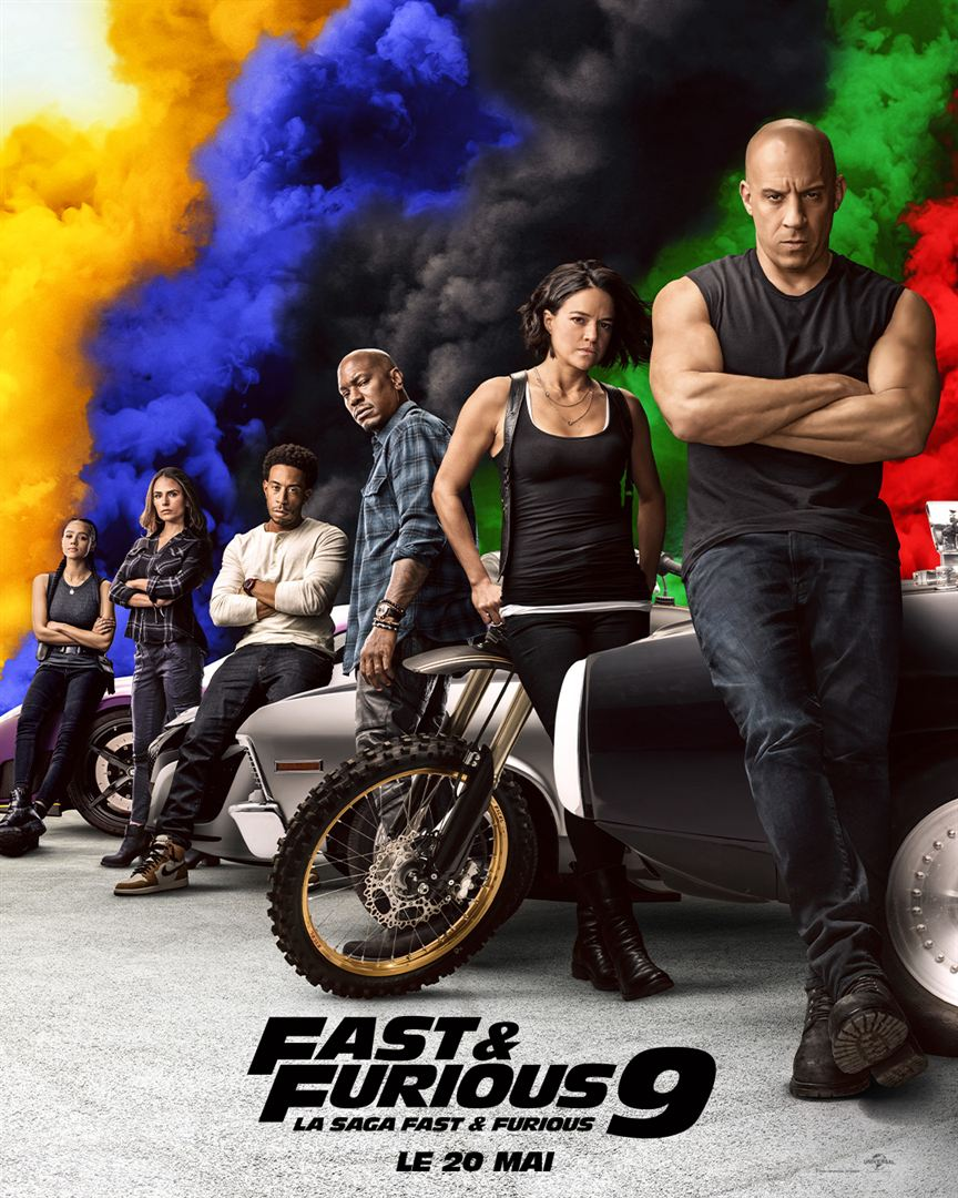 fast & furious 9 - Jaquette