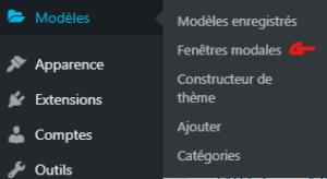 miniature elementor pro : modele