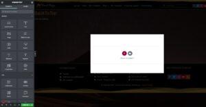 elementor pro bouton retour en haut camel design 03 - Camel Design
