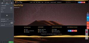 elementor pro bouton retour en haut camel design 05 - Camel Design