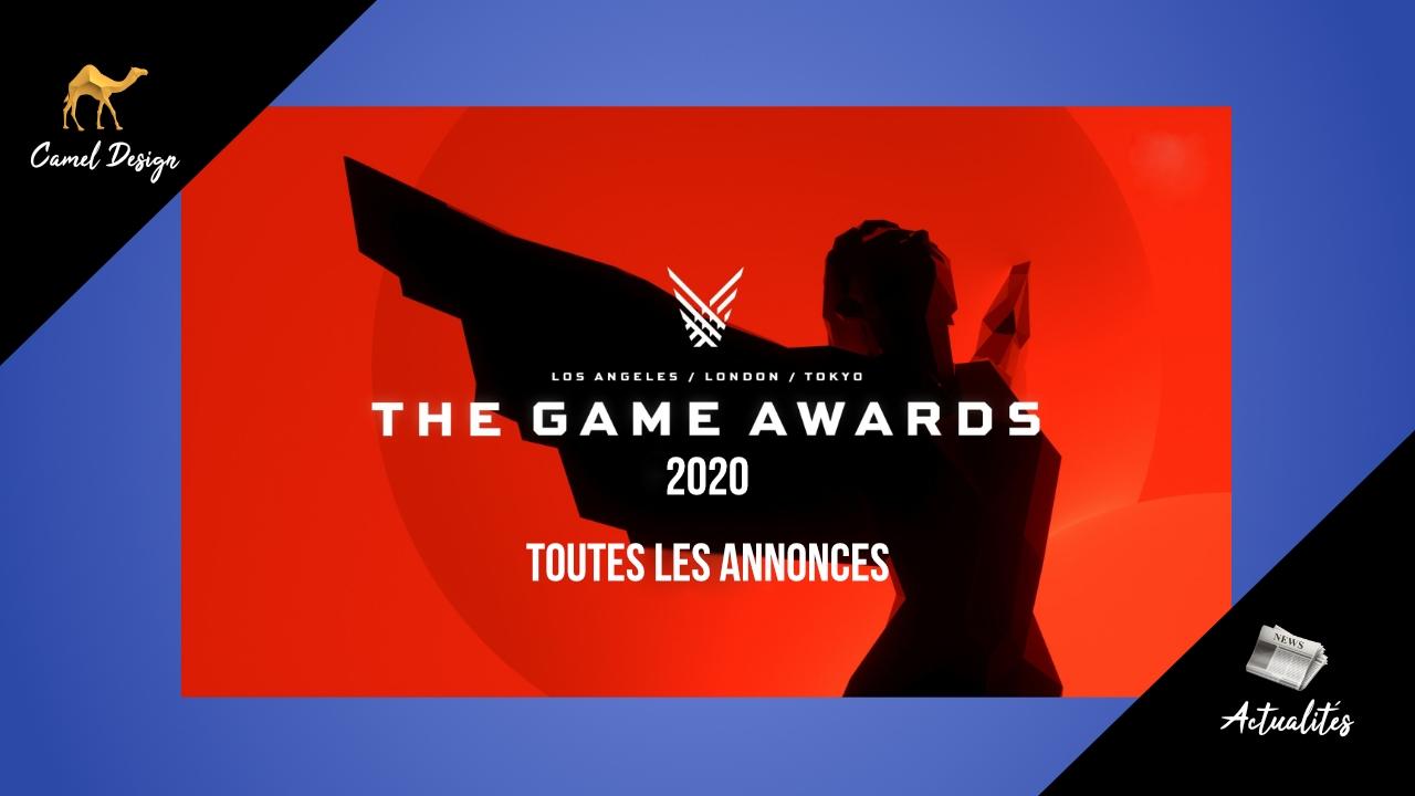 game awards 2020 toutes les annonces miniature camel design