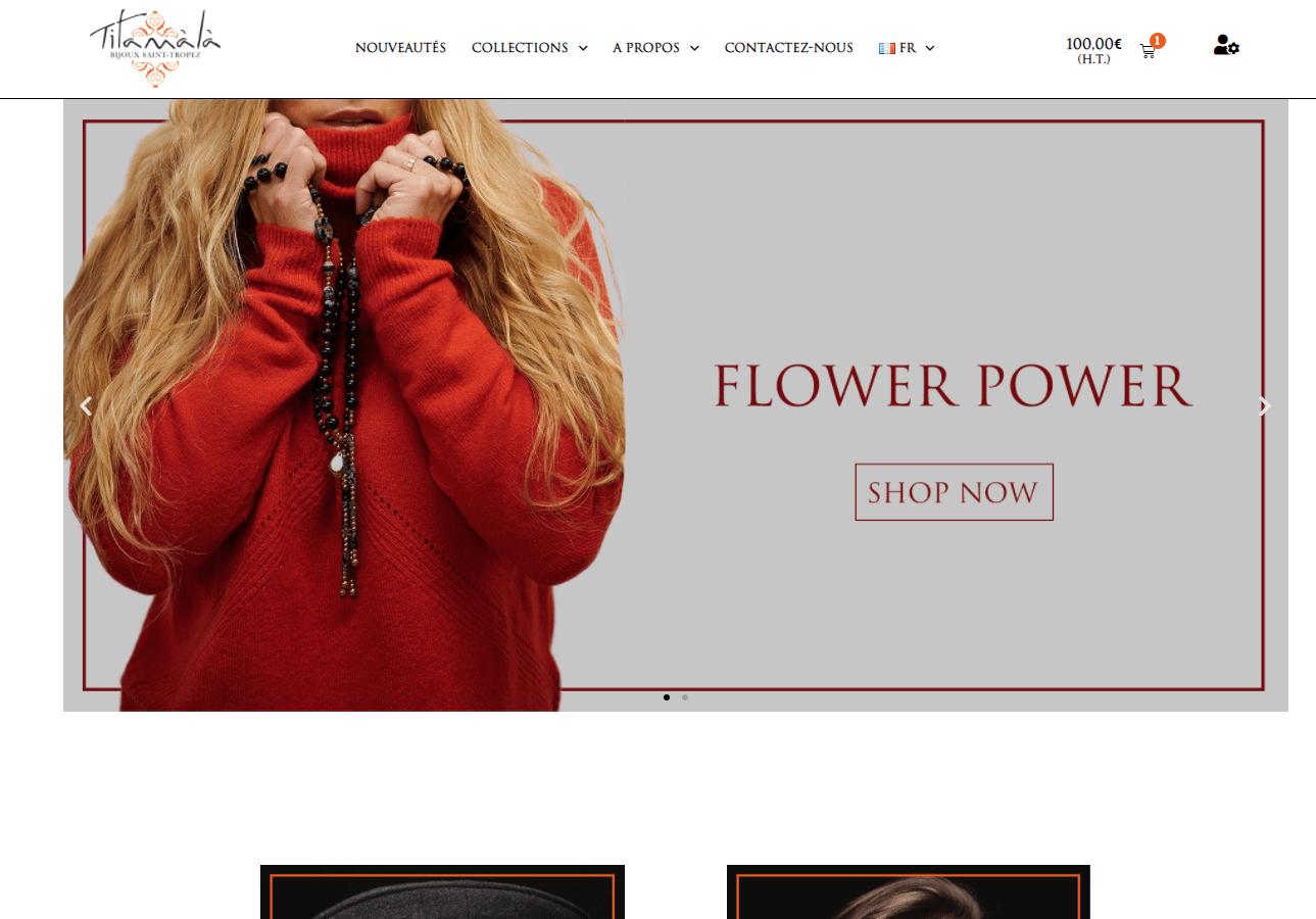 boutique en ligne TITAMALA