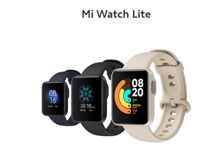 Xiaomi MI watch Lite coloris camel design