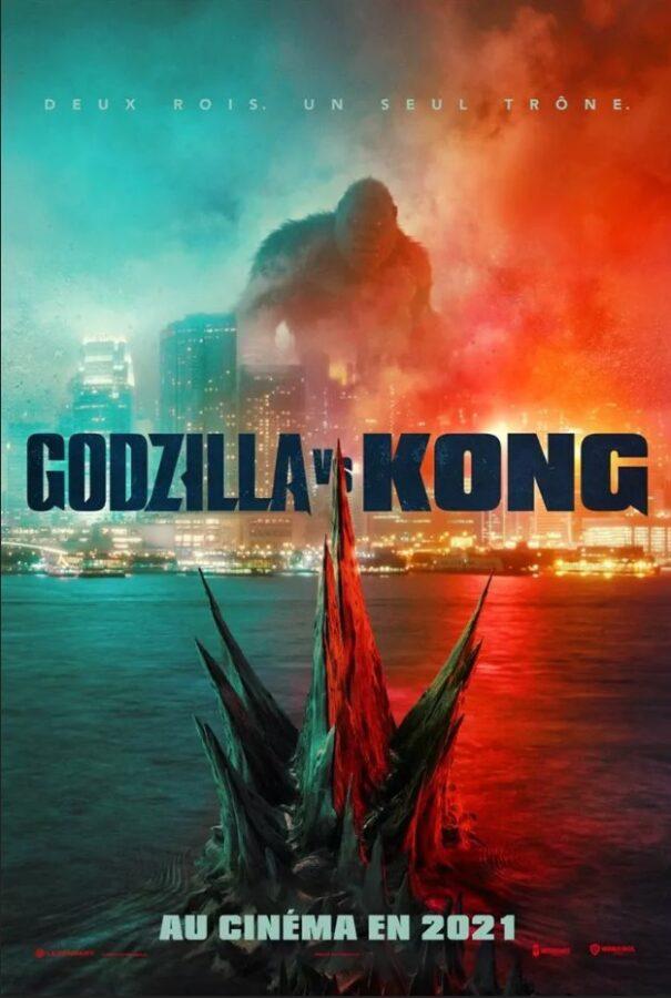 Godzilla vs Kong - Jaquette - camel design