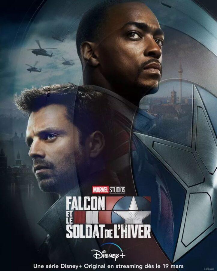 Jaquette : Falcon et le soldat de l'hivers