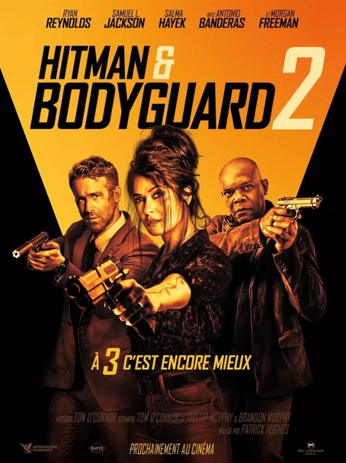 Hitman & bodyguard 2 - jaquette par camel design