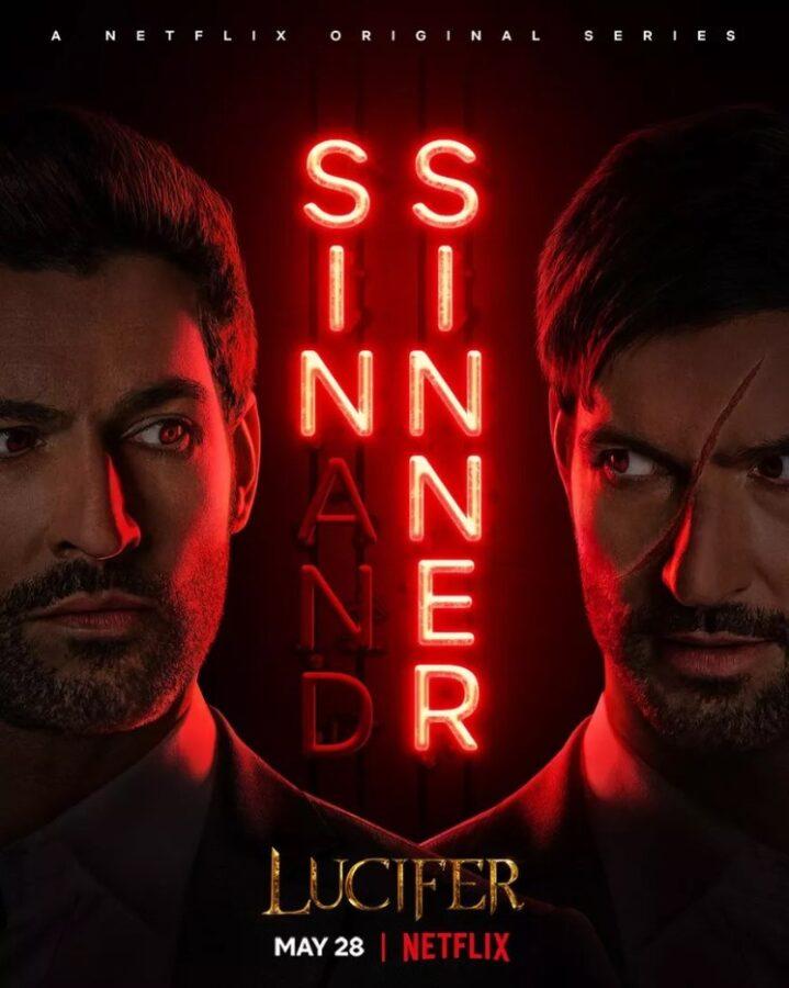 Lucifer : Saison 9, partie 2 - jaquette de la série, par camel design