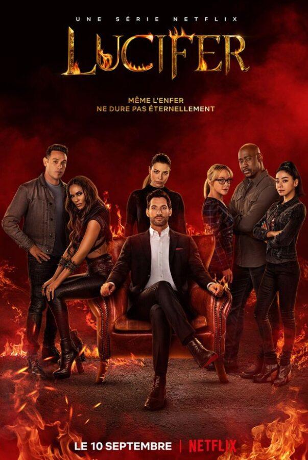 Série : Lucifer - saison 6 - Jaquette par camel design