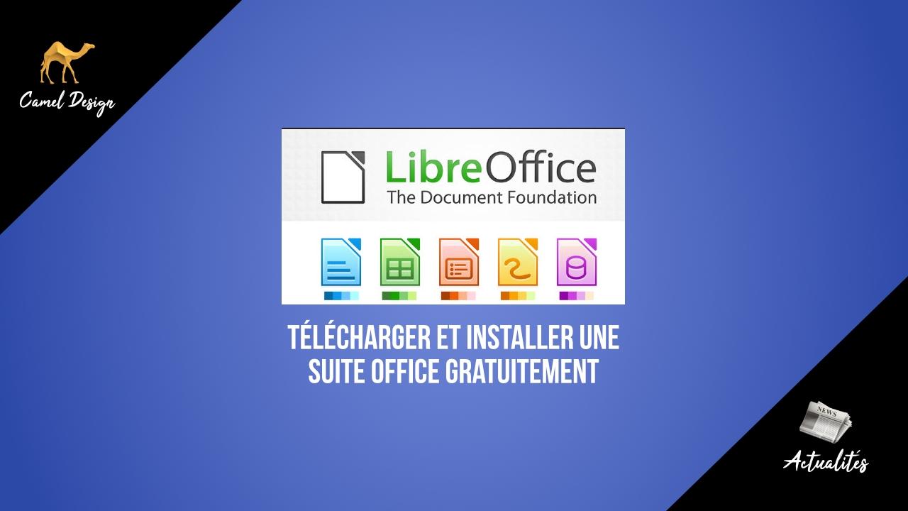 miniature télécharger et installer une suite office gratuitement par camel design