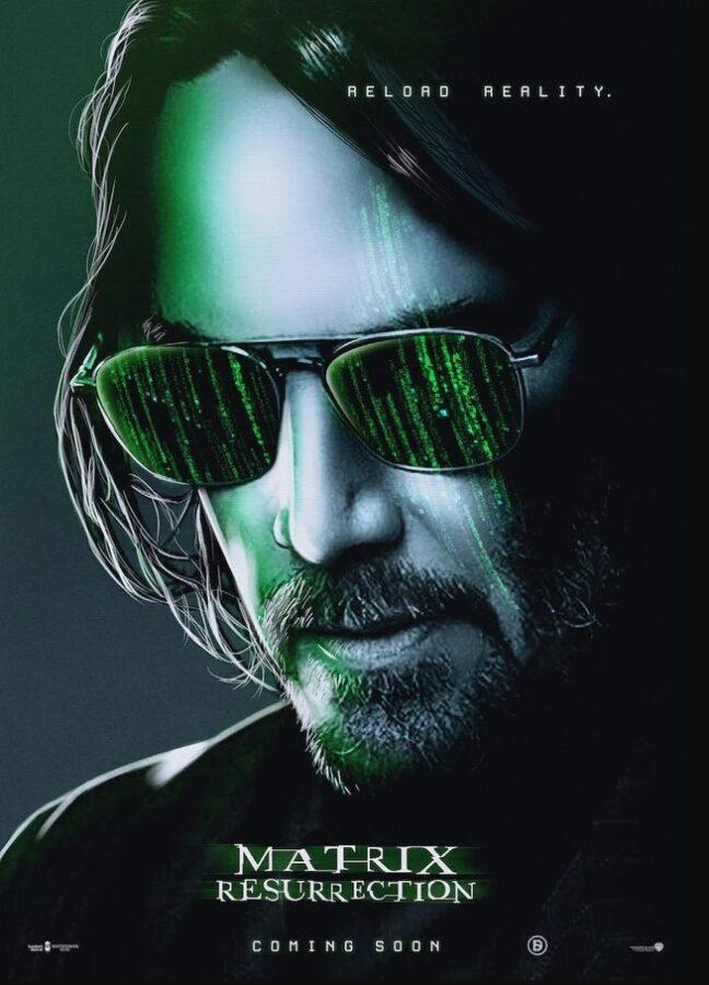 Matrix 4 : Resurrection - Jaquette par camel design